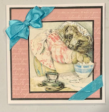 Live Stream Work Along Class Kit -- Beatrix Potter Mrs. Tiggy Winkle --PREVIOUSLY PURCHSED CD