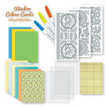 Window Colour Cards Kit - Dreamcatchers 3.9494