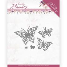 Precious Marieke Pretty Flowers - Pretty Butterflies Pm10193