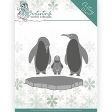 Find It Trading Yvonne Creations Wintertime Penguins on Ice Die Set
