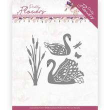Precious Marieke Pretty Flowers - Pretty Swans Pm10192