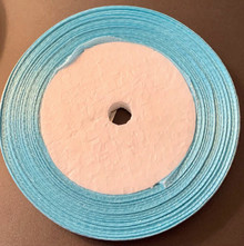 "25 yd Satin Ribbon 2/5"" LIGHT BLUE Approx. 25-yards"