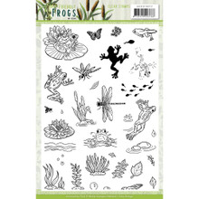 Amy Design Friendly Frogs - STAMP SET ADCS10072