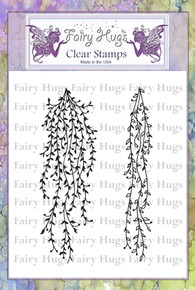 Fairy Hugs Stamp - Hanging VInes