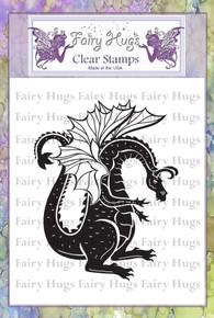 Fairy Hugs Stamp - Zakar (the dragon)