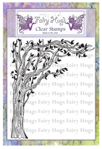 Fairy Hugs Stamp - Lantern Tree