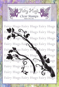 Fairy Hugs Stamp - Fairy Branches