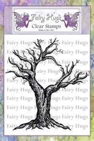 Fairy Hugs Stamp - Moon Tree