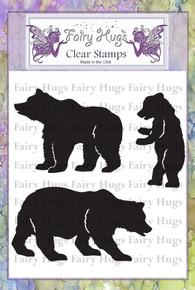 Fairy Hugs Stamp - Beary Family