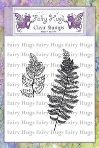 Fairy Hugs Stamp - Fern Leaves