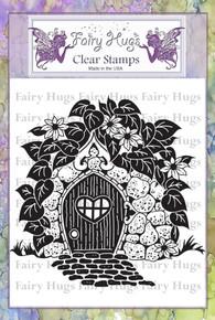 Fairy Hugs Stamp -fairy door