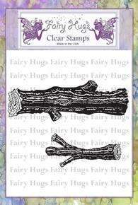 Fairy Hugs Stamp - Logs