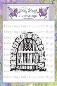 Fairy Hugs Stamp -Gnome Door