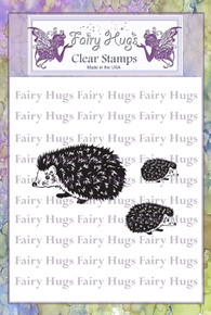 Fairy Hugs Stamp - Hedgehog