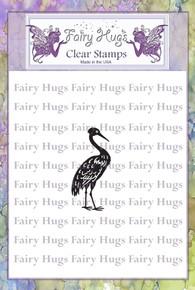 Fairy Hugs Stamp - Heron