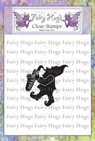 Fairy Hugs Stamp -Corwain Gnome