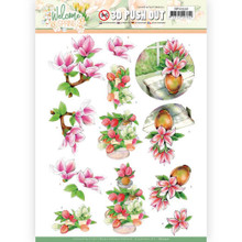3D Push Out - Jeanine's Art – Welcome Spring - Pink Magnolia SB10530