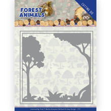 Amy Design Dies - Dies - Amy Design – Forest Animals - Forest Frame