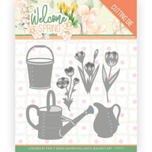 Find It Trading Jeanine's Art – Welcome Spring - Watering Can and Bucket Cutting Dies
