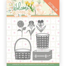 Find It Trading Jeanine's Art – Welcome Spring - Spring Basket Cutting Dies