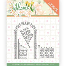 Find It Trading Jeanine's Art – Welcome Spring - Arch & Fence Cutting Dies