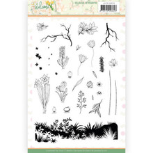 FInd It Trading - Jeanine's Art - Welcome SPring Clear Stamps