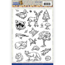 FInd It Trading - Amy Design – Forest Animals Clear Stamps