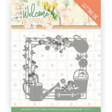 Find It Trading Dies - Jeanine's Art – Welcome Spring - Spring Frame