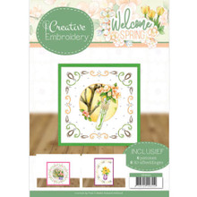 Find It Trading Creative Embroidery 23 Welcome Spring 8 Patterns with 8 3-D Scissor-Cut Images