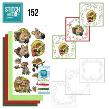 Find It Trading Stitch and Do 152 - Amy Design - Forest Animals