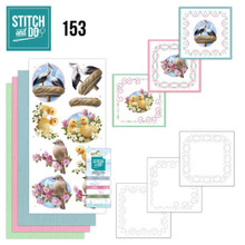 Find It Trading Stitch and Do 153 - Amy Design - Enjoy Spring