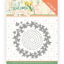 Find It Trading Jeanine's Art – Welcome Spring - Wreath Cutting Dies