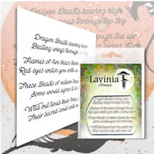Lavinia Clear Stamps- Dragon Verse