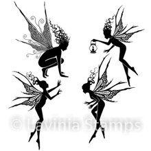 Lavinia Clear Stamps- Fairy Foragers