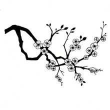 Lavinia Clear Stamps- Cherry Blossom