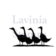 Lavinia Clear Stamps- gaggle of geese