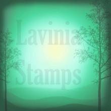 Lavinia Stamps- Scene Scapes 6x6 Paper Set- Spring Mist