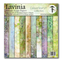Lavinia Stamps- 8x8 Paper Pad Colourburst Collection