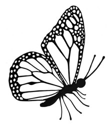 Lavinia Clear Stamps- Flutterby Miniature