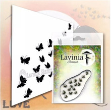 Lavinia Clear Stamps- Flutterbies
