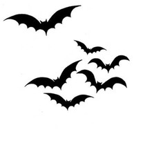 Lavinia Clear Stamps- Bats