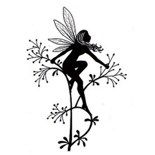 Lavinia Clear Stamps- Flower Fairy