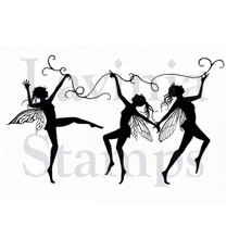 Lavinia Clear Stamps- Dancing Till Dawn