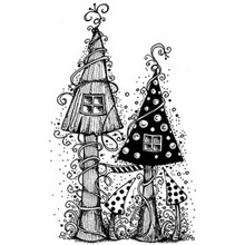 Lavinia Clear Stamps- Fairy House