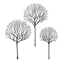 Lavinia Clear Stamps- Skeleton Tree Scene