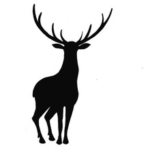 Lavinia Clear Stamps- Stag