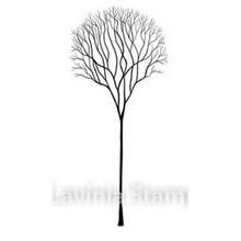 Lavinia Clear Stamps- Skeleton Tree
