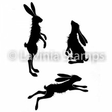 Lavinia Clear Stamps- Whimsical Hares