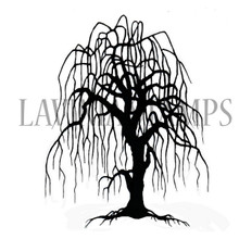 Lavinia Clear Stamps- Weeping Willow Tree