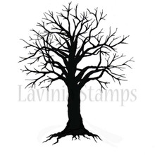 Lavinia Clear Stamps- Spooky Tree